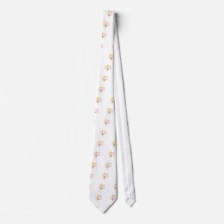 Baptism Cross & Dove Tie