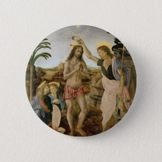 Baptism of Christ 6 Cm Round Badge
