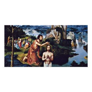 Baptism Of Christ By Patinir Joachim (Best Quality Custom Photo Card