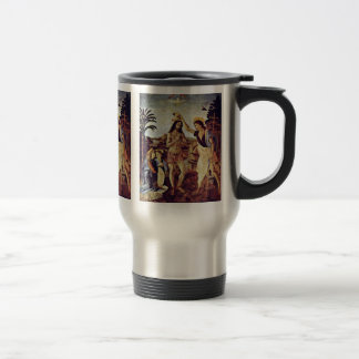 Baptism Of Christ By Sarto Andrea Del Mugs