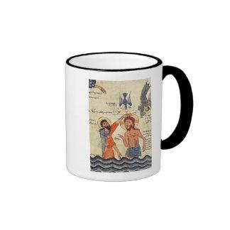 Baptism of Christ, from a Gospel Coffee Mug