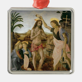 Baptism of Christ Metal Ornament
