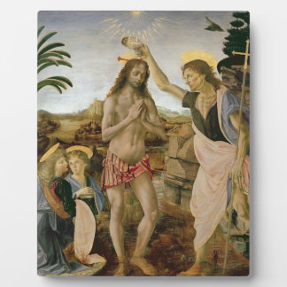 Baptism of Christ Plaque