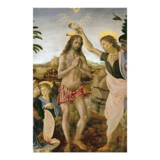 Baptism of Christ Stationery