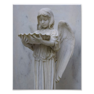 Baptismal Angel (side view) 8x10 Photo Print
