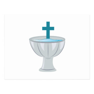 Baptismal Font Postcard