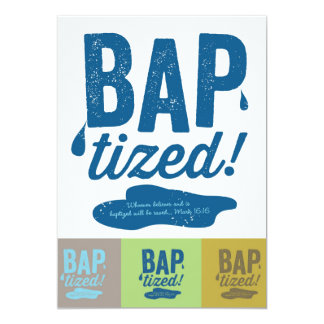 Baptized! Invitations