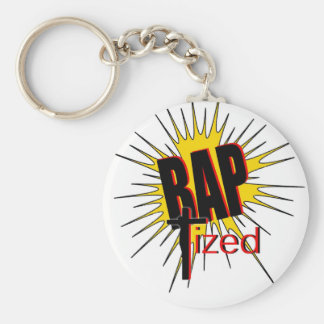 Baptized!  The gift for all who are proud. Basic Round Button Key Ring