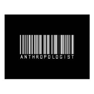 BAR ANTHROPOLOGIST DARK POSTCARD