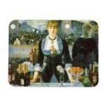 Bar at the Folies-Bergere, Manet, Vintage Fine Art Rectangle Magnets
