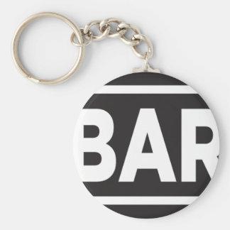 Bar Bar Bar Keychains