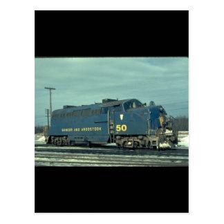 BAR BL-2_Trains Postcard