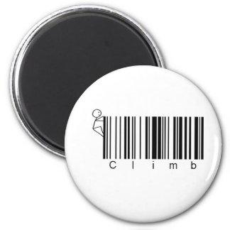 Bar Code Climb Magnet