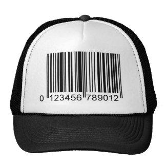 bar code mesh hat