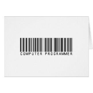 BAR COMPUTER PROGRAMMER LIGHT CARD