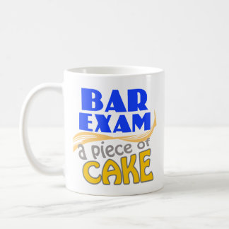 Bar Exam - Piece of Cake Coffee Mugs
