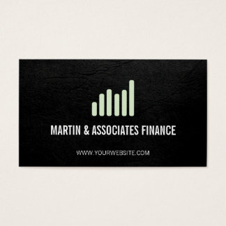 Bar Graph | Mint Business Card
