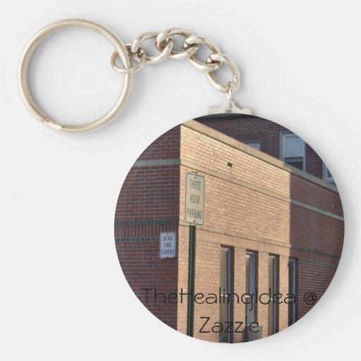 Bar Harbor - Brick Key Chain