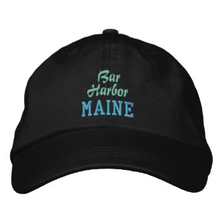 BAR HARBOR cap Embroidered Hats