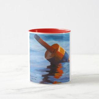Bar Harbor, Maine Buoy Mug- from original artwork Mug