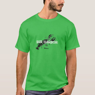 Bar Harbor Maine Lobster T Shirt