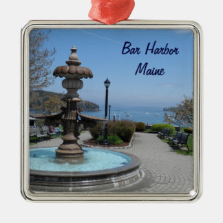 Bar Harbor, Maine Metal Ornament