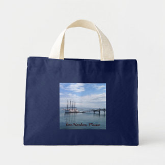 Bar Harbor, Maine Mini Tote Bag