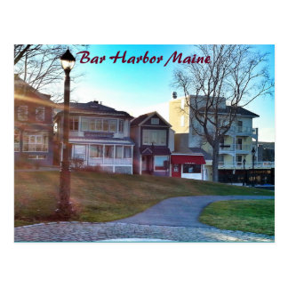 Bar Harbor Maine PostCard