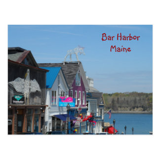 Bar Harbour, Maine Postcard