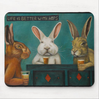 Bar Hopping Mouse Pad