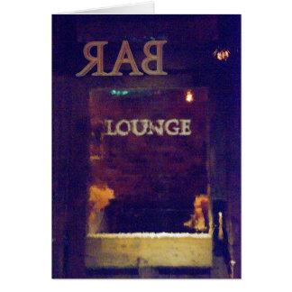 Bar Lounge - Stone Street NYC Card