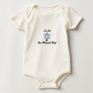 BAR MITZVAH INFANT BABY OUTFIT CUTE TRENDING BABY BODYSUIT