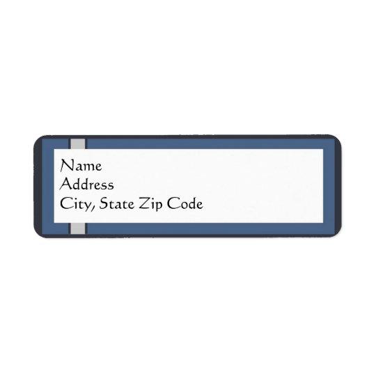 Bar Mitzvah Return Address Labels
