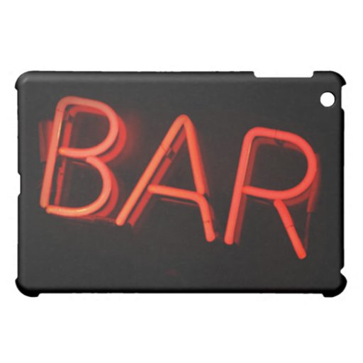 Bar Neon Sign iPad Case