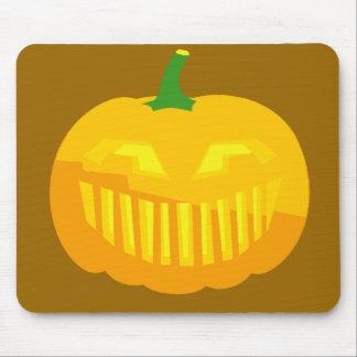 Bar Teeth Jack-O-'Lantern Mouse Pad