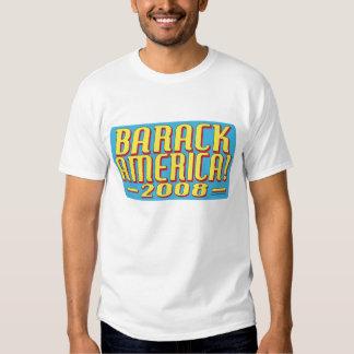 Barack America text Shirts