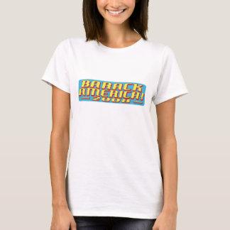 Barack America text T-Shirt