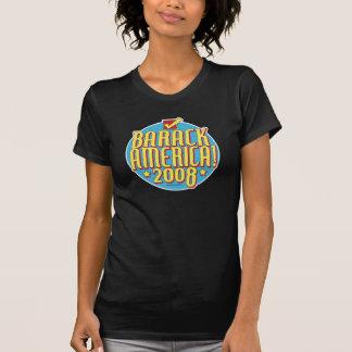 Barack America text T-shirts