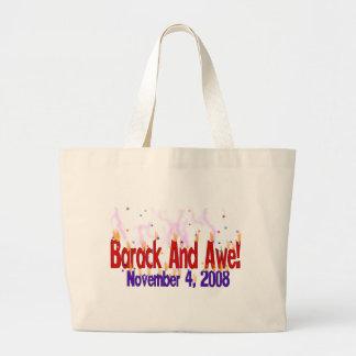 Barack and Awe Jumbo Tote Bag