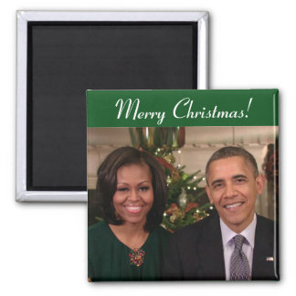 Barack and Michelle 2012WA - Magnet