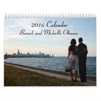 Barack and Michelle Obama 2016 - Calendar