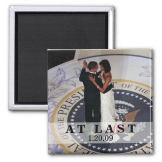 Barack and Michelle Obama Dancing Inaugural Ball Fridge Magnets