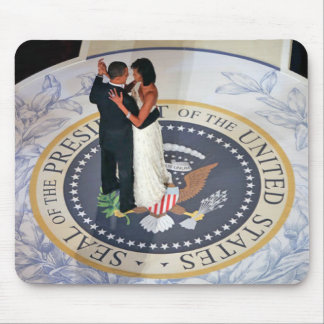 Barack and Michelle Obama dancing Inaugural Ball Mouse Pad