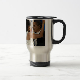 Barack and Michelle Obama Travel Mug