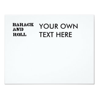 Barack and Roll T-shirt Invitation
