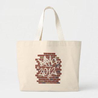 Barack_Grafitti Jumbo Tote Bag