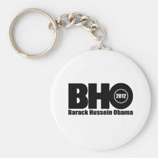 Barack Hussein Obama 2012 for president Keychain