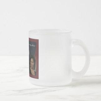 Barack Michelle Obama frosted mug