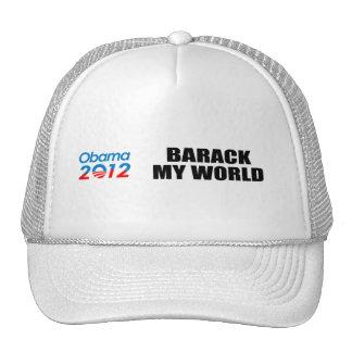 BARACK MY WORLD MESH HATS