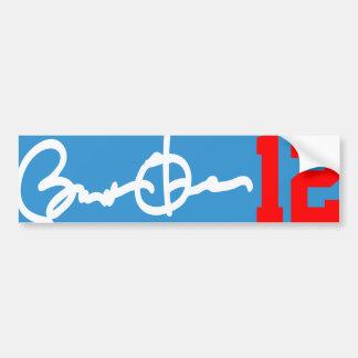 Barack Obama 12 Bumper Sticker